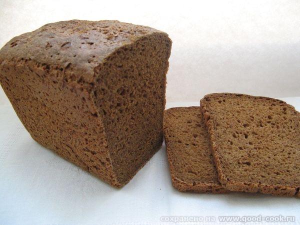 Ржаной хлеб на каждый день Рецепт