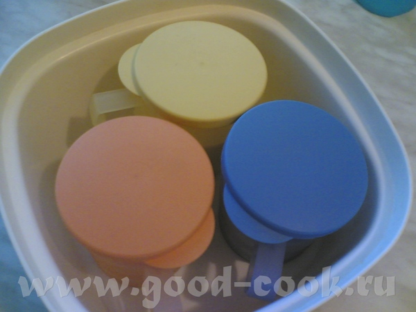 Девочки, я купила термосервирователь больше для того, чтобы делать домашние йогурты - 4