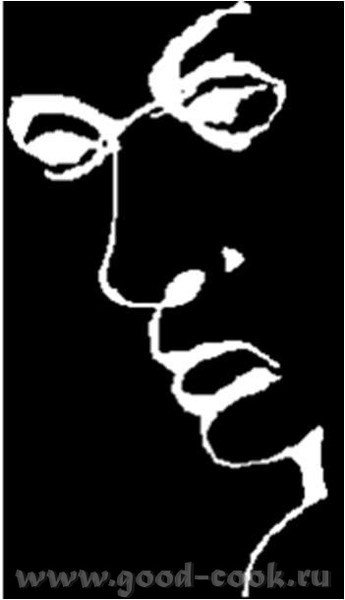 Перевернем предыдущую картинку… Это мужчина с саксофоном или женщина в тени - 4