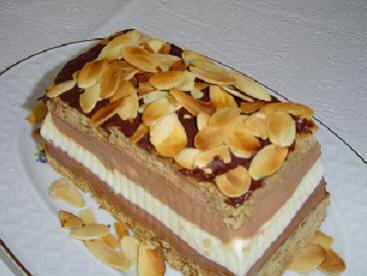 Пирожные с тройным шоколадным муссом oт Мишель