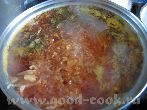 БОРЩ Купила вкусное-вкусное парное мяско - говядинку с сахарной косточкой
