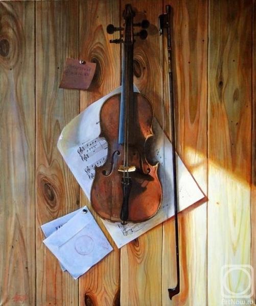 скрипка - вообще необычный инструмент - 8