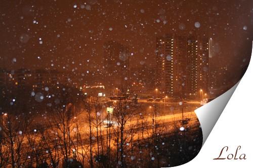 Вот и нас порадовала погода снегом это вчера а это сегодня