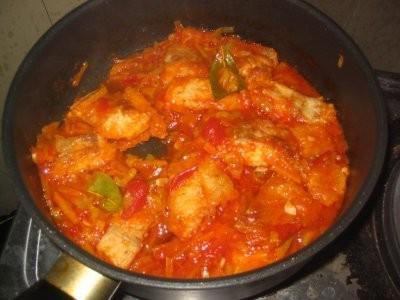 Какие вкусности вокруг У нас вчера была Жареная рыба с овощами с пюрешкой и овощным салатом