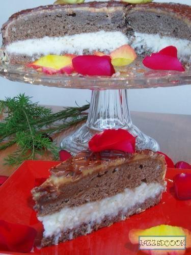 Отредактированная версия торта расположена у меня на сайте вот тут Очень вкусный торт - 4
