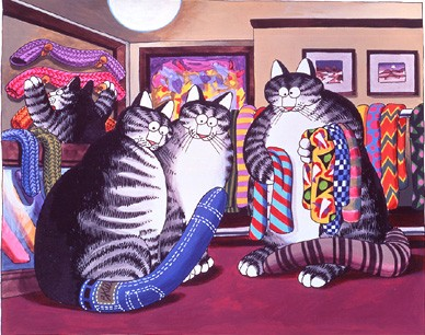 Абалденные коты Клибана