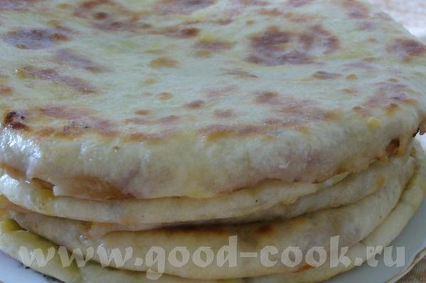 Хычины Хычины это пироги из обычного теста замешанного из любых кисло- молочных продуктов, кефира,... - 3