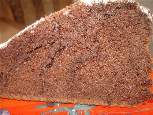 Сегодня пекла ,, Шоколад на кипятке ,, от Celine с kuking - 2