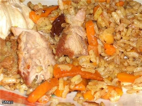 Плов «Интернационал» Мясо взял баранину и свинину в равных пропорциях(Волгоград) и чуть чуть курдюк... - 8