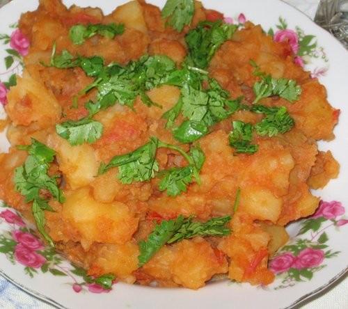 Яхния из картофеля