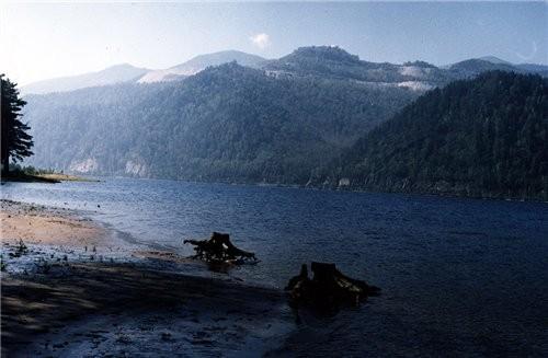 Чудес природных здесь не счесть Кибик — Кордонское месторождение мрамора, Так называют горы Саяны н... - 2