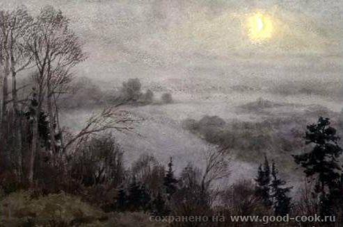 Сергей Андрияка Туман на Вятке Описание: тихо, туман