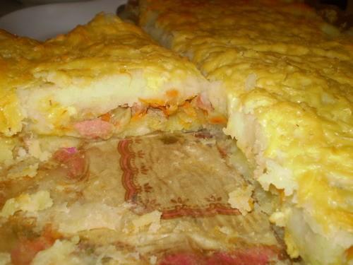 Запеканка с колбасой - 2