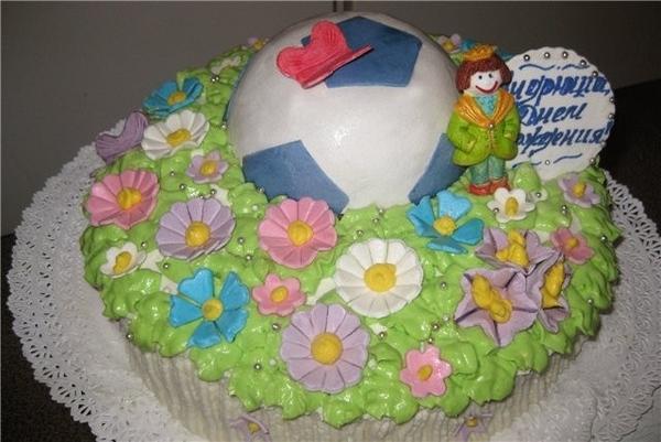 Приветик, я с очередным тортиком
