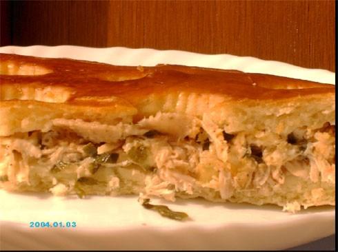 , очень мне понравился деревенский пирог от Аины - Торта Рустика - 2