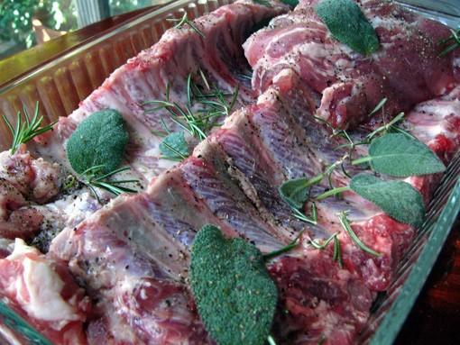 Маринад для мяса(ребрышек) Ингредиенты примерные, и можно варьировать на 2 больших полоски ребер 30...