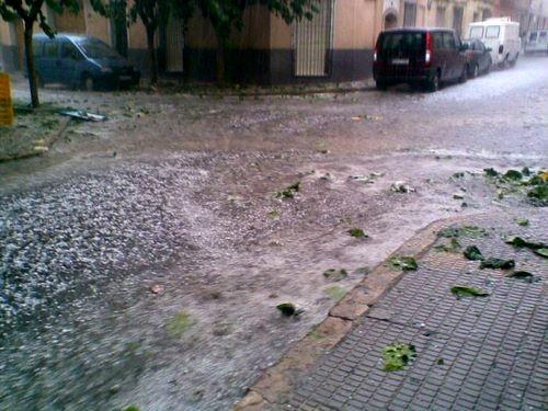 Девочки, в Мурсии если дожди - то стихийное бедствие