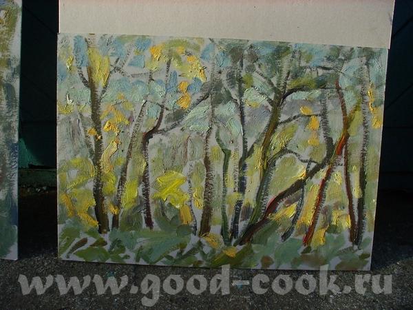Это работы моего препода, директора школы, заслуженного художника России - Каменева В - 4