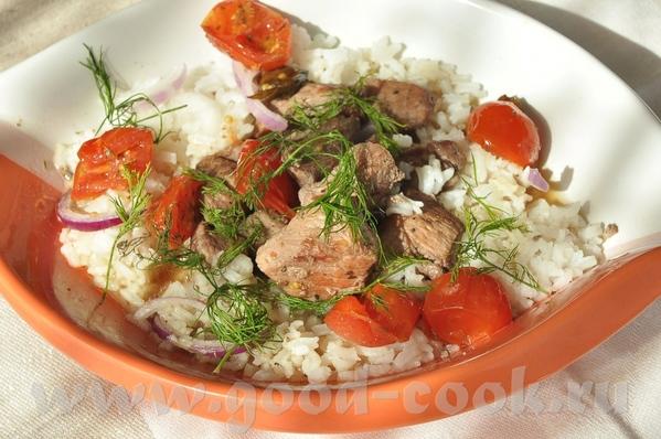 блюдо родом с Кипра- тушёная свинина с вином, корицей и кардамоном - 3