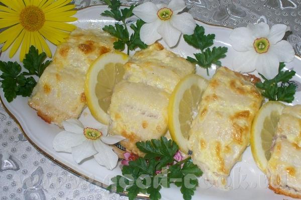 Филе полосатого сомика в духовке Это очень нежная и вкусная рыбка, мяско тает во рту