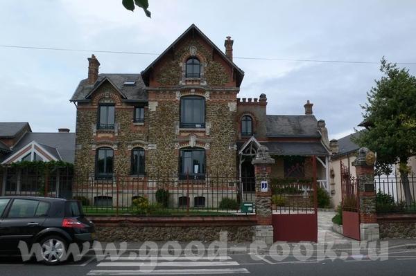 Это вид на замок Chaumont И на Луару - 6