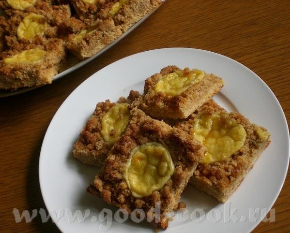 Zwieback-Streusel-Kuchen Пирог со штройзелем из сладких сухариков