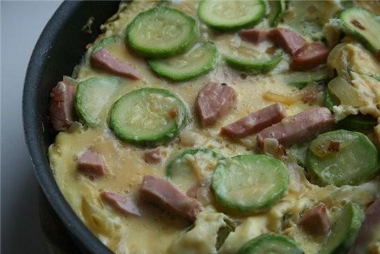 Фриттата с кабачками и еще одна идея для завтрака-очень простая блины в карамели в блинчик завернут...