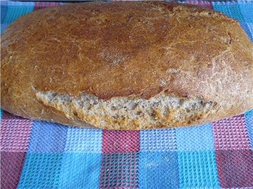 Простой, вкусный и довольно быстрый в приготовлении хлеб - 3