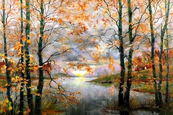 Очень здорово Ты работы оформила- умница Красота, oсень Rachel Clearfield Кузьмичёв Лев Александро... - 4