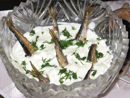 """Румынский салат Кошмарные """"Рыбки в пруду"""" (сразу получившие кличку """"дистрофики"""") Фаршированные яйца... - 3"""