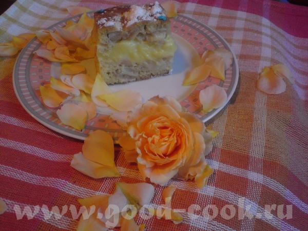 ДУНАЙСКИЕ ВОЛНЫ - яблочные пирожные Для теста: 250 г маргарина 5 шт яиц 200 г сахара 2 ст