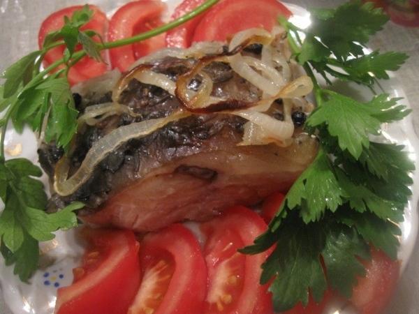 Вкусная рыбка