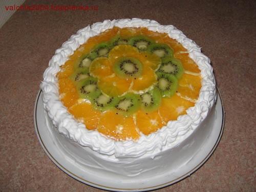А это мой тортик еще не начатый