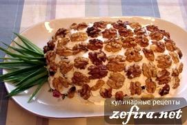 """Отсюда Рецепт салата с ананасом """"Ананас"""" Автор: Наталья Салат с таким сочетанием ингредиентов я ни..."""