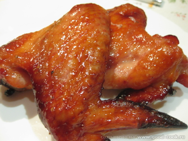 Девочки, какой же у меня сегодня на кухне стоял аромат Сегодня я готовила крылышки по рецепту Танюш...