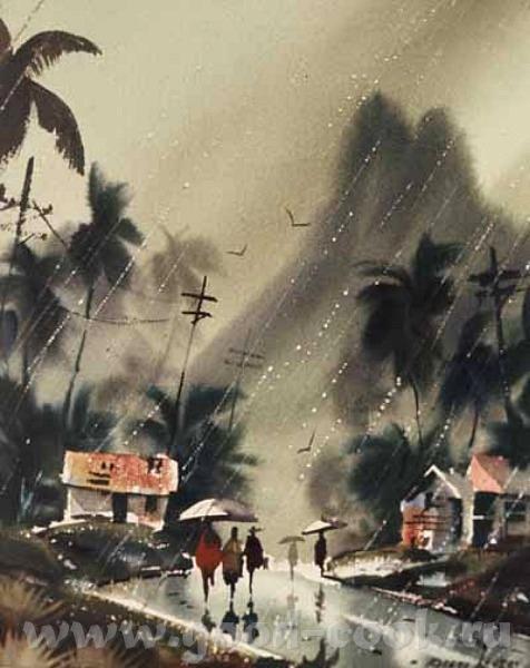 Вот вам ещё дождь Landry Robert ============ Хавайский дождь Zhang Xuanzheng ============== Дождь и...