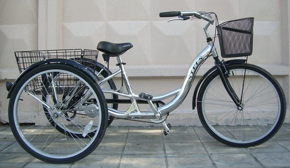 """Девочки, увидела на одном сайте трехколесный велосипед для взрослых и """"загорелась"""" купить его на да..."""