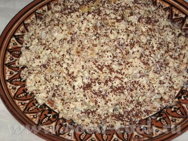 Муравейник Шоколадный пирог со сливами Все рецепты можно найти ЗДЕСЬ - 4