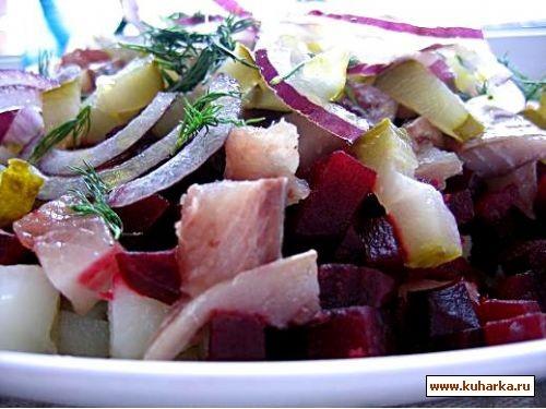 салат выходного дня