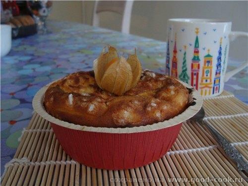 Запеканка творожная на подложке из печенья Хочу предложить вам вариант праздничной запеканки, котор... - 2