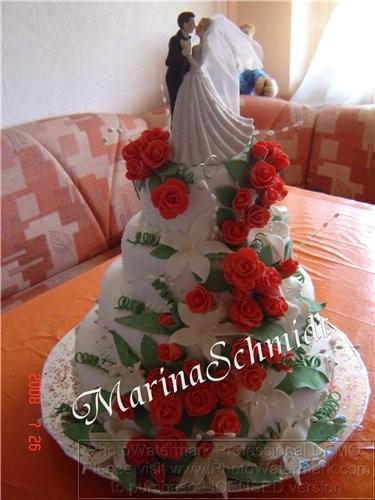 Фото рецепт свадебный торт