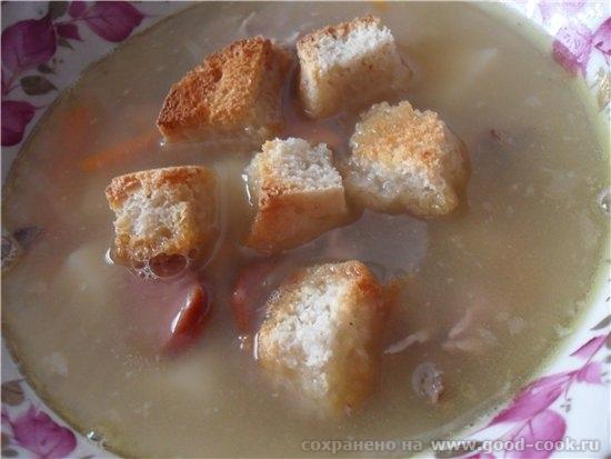 А на сегодня у меня Суп гороховый Оливье