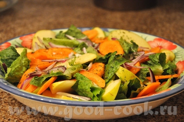 пара постных рецептов, может кому пригодятся Картофельное пюре с имбирём и чесноком [b Зелёный сала... - 2