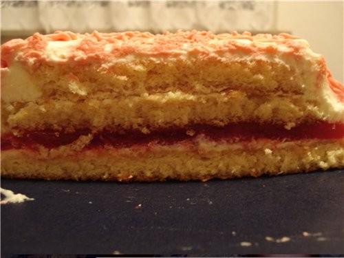Бисквитный тортик - 2