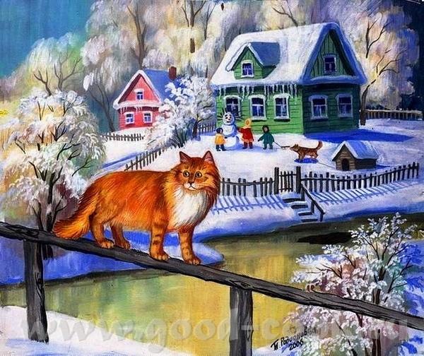 Очень xороший подарок дочкам вы сделали Это художник Джим Уоррен- Jim Warren ======================... - 9