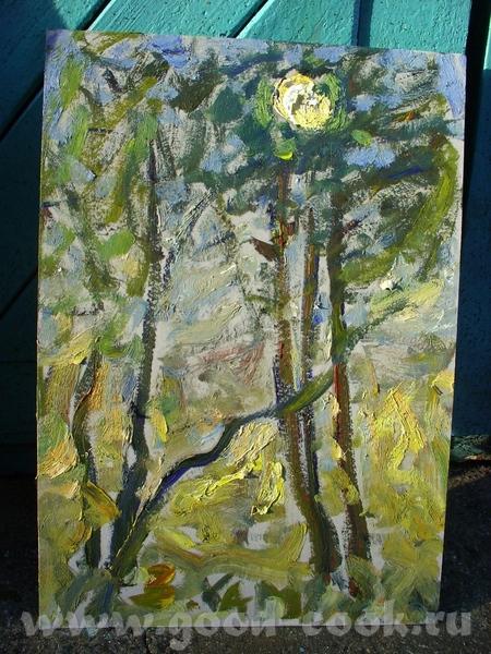 Это работы моего препода, директора школы, заслуженного художника России - Каменева В - 5