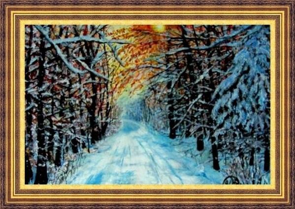 ПРОШУ ПРОЩЕНИЯ ЧТО С ОПОЗДАНИЕМ, ВАМ ПОКАЗЫВАЮ РАБОТЫ ЗИМНИЙ ВЕРНИСАЖ Зима – это сказочное время го... - 4