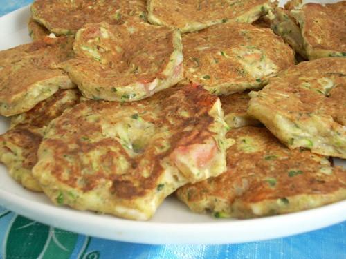 Критские оладья из кабачков с фетой