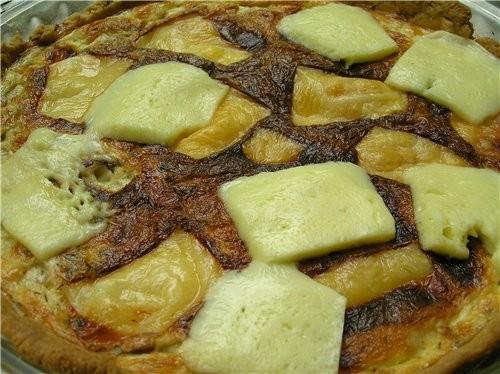Свекольный киш Сырные шарики из заварного теста Сырный пирог с пряными травами Слоеный пирог с тунц... - 3