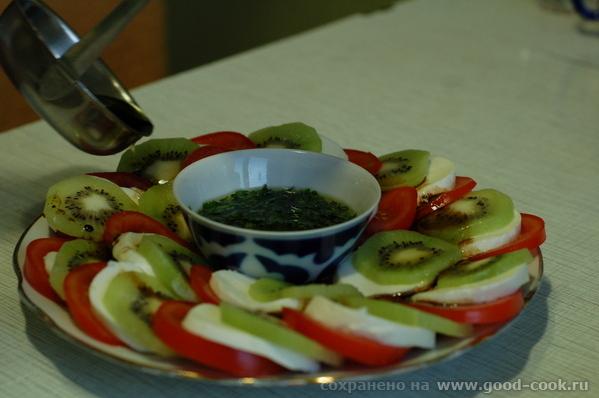 Insalata caprese dolce (Инсалата капрезе дольче, Сладкий салат с острова Капре)
